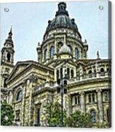 St Stephen Basilica   Budapest Acrylic Print