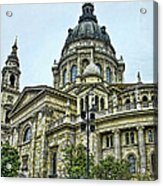 St Stephens Cathedral - Budapest Acrylic Print