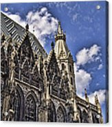 St Stephens Cathedral - Vienna Acrylic Print
