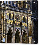 St Vitus Cathedral Entrance Acrylic Print