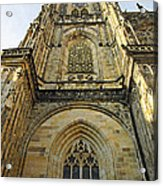 St Vitus Cathedral Prague - The Realms Of 'non-being' Acrylic Print