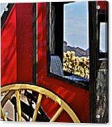 Stagecoach View Acrylic Print