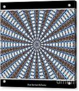 Stained Glass Kaleidoscope 32 Acrylic Print