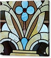 Stained Glass Lc 04 Acrylic Print