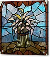 Stained Glass Lc 11 Acrylic Print