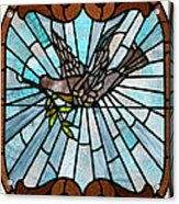 Stained Glass Lc 14 Acrylic Print