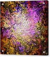 Stained Glass Mosaic Acrylic Print