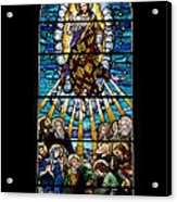 Stained Glass Pc 01 Acrylic Print