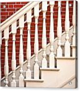 Stair Case Acrylic Print by Tom Gowanlock