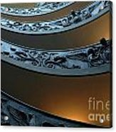 Staircase At The Vatican Acrylic Print by Bob Christopher