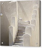 Stairs In Greece Acrylic Print