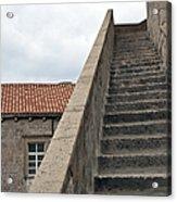 Stairway In Dubrovnik Acrylic Print by Madeline Ellis