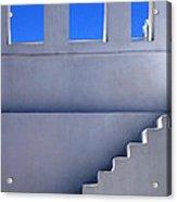 Stairway In Iao Greece Acrylic Print