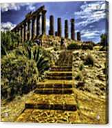 Stairway To The Past Acrylic Print