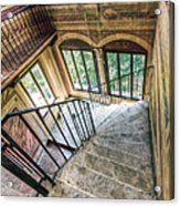 Stairways Acrylic Print by Andreas Jancso