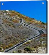 Stairwell To Windy Point  Acrylic Print