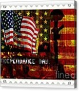Stamp Your Freedom  Acrylic Print