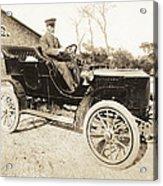 Stanley Steamer Car, 1906 Acrylic Print