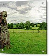 Stanton Drew Standing Stone Acrylic Print