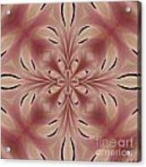 Star Magnolia Medallion 2 Acrylic Print