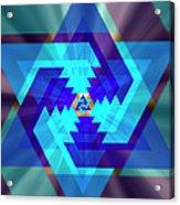 Star Of David 1 Acrylic Print