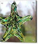 Star Of Glass Acrylic Print