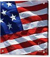 Star Spangled Banner - D001883 Acrylic Print