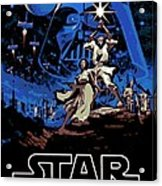 Star Wars Poster Acrylic Print