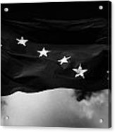 Starry Plough Flag Irish National Liberation Army Inla Ireland Acrylic Print