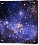 Stars And The Milky Way Acrylic Print