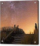Stars In A Night Sky Acrylic Print