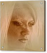 Stars In Her Eyes Acrylic Print