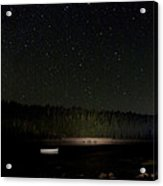 Stars Over Otter Cove Acrylic Print