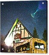 Stars Over Pow Wow Acrylic Print