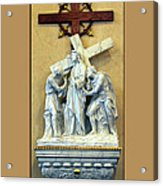 Station Of The Cross 02 Acrylic Print