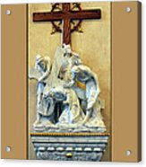 Station Of The Cross 03 Acrylic Print