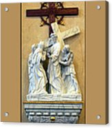 Station Of The Cross 04 Acrylic Print