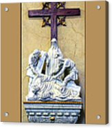Station Of The Cross 09 Acrylic Print