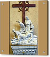 Station Of The Cross 11 Acrylic Print