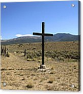 Stations Of The Cross  Acrylic Print by Ann Powell