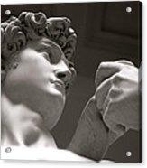 Statue Of David Acrylic Print