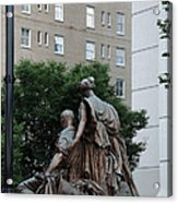 Statues In Nashville Acrylic Print