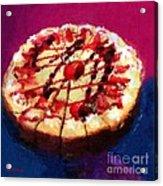 Stawberry Sin Acrylic Print