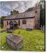 St.dyfnog's Church Acrylic Print by Adrian Evans