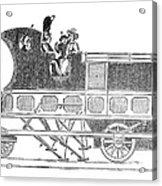 Steam Coach Acrylic Print