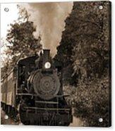 Steam Engine Acrylic Print