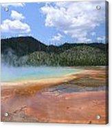 Steam Lake Acrylic Print