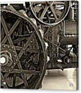 Steam Power Monochrome Acrylic Print