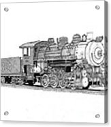 Steam Switcher Number 1894 Acrylic Print