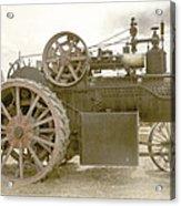 Steam Tractor Acrylic Print